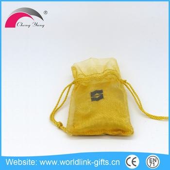 Factory wholesale custom small cotton embroidered sachet bags with drawstring bag