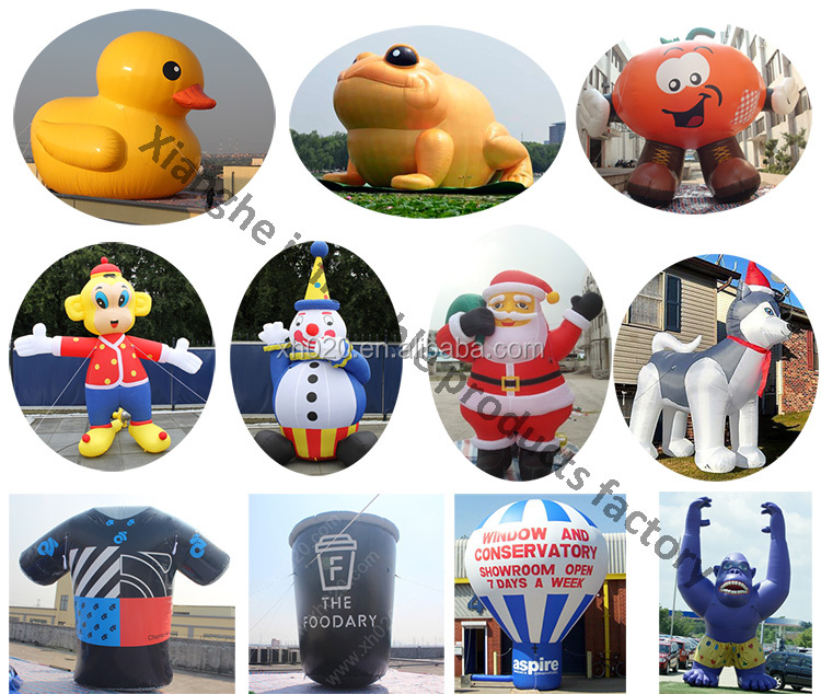 HOT advertising buoy model giant inflatable promotion duck