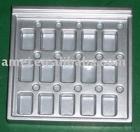 Plastic tray, PS material, vacuum forming blister process