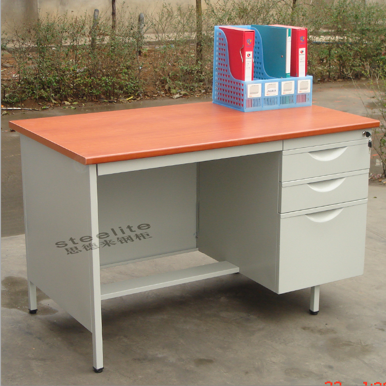 Wholesales Factory Price High Quality Mobile Pedestal Bookcase with Study Table