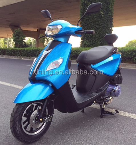 2018 XINLING new arrival model 50cc 125cc and 150cc powerful gas scooter gasoline motorcycle for sale