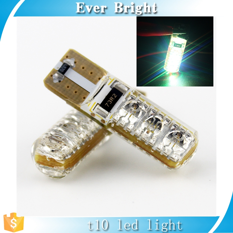 High quality !! T12 5050 6SMD SILICA strobe flashing PCB Lights Led Clearance Lamps Instrument lights white free shipping