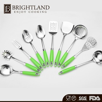 Professional 10 Piece Cooking Hand Tool Kitchenware Set