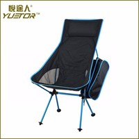 YUETORcamping aluminum triangle chairs with carry bag