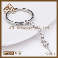 Fashion metal split ring with eye screw for wood