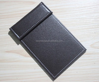 Custom logo leather restaurant hotel bill menu folder bill holder