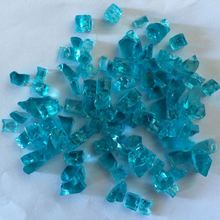 Colorful Non-Reflective Tempered Fireplace Pit Glass Chips