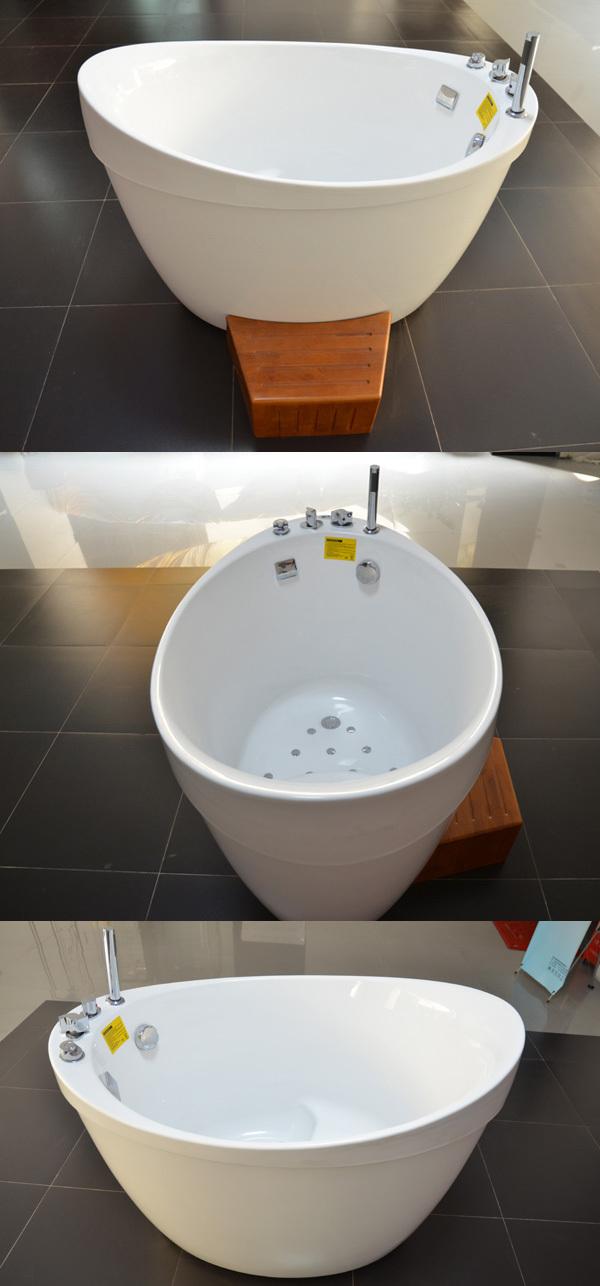 Small deep bathtub deep soaking bathtubs freestanding for Freestanding tubs for sale