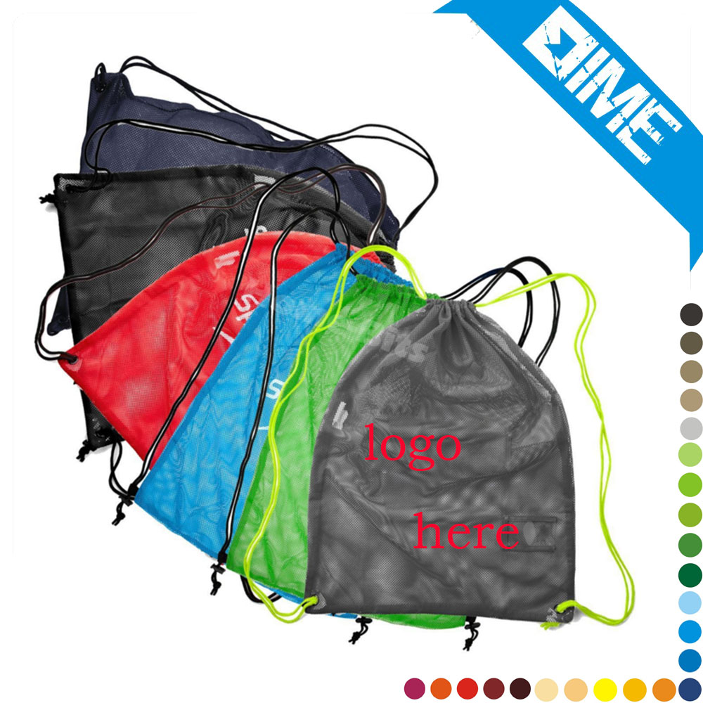 High Quality Multifunctional Nylon Drawstring Mesh Bag For Wholesale