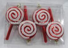 plastic stick candy with hand paint