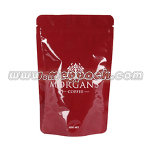 stand up PVC zipper bags for cosmetic,PVC soft vinyl pouch