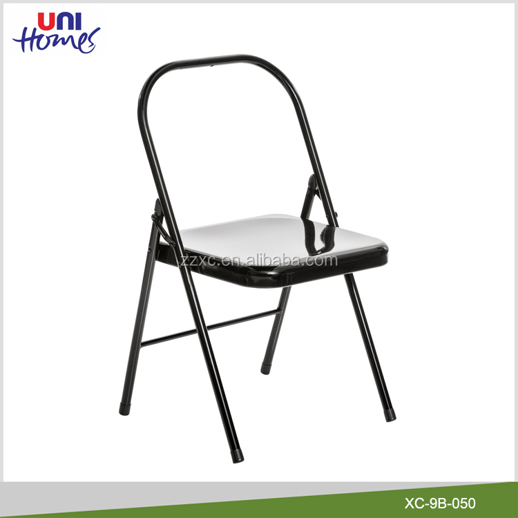 Backless Metal Folding Yoga <strong>Chair</strong> For Sale