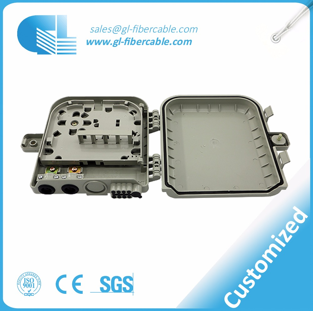 china manufacture supply rack-mounted and wall mount ftth cable terminal box