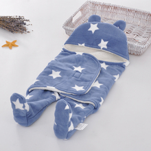 Printed Fleece Sleeping Bag For Newborn Baby Sack
