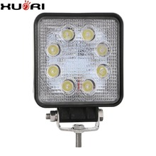 automotive 8led 24w led work light auto parts with CE ROHS Emark led working light for off-road driving work lamp