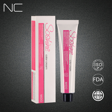 China OEM/ODM fábrica al por mayor italiano marcas color de cabello sin amoníaco pelo color crema/tinte para el cabello