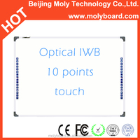 interactive electronic whiteboard smart board with 10 touch points for meeting