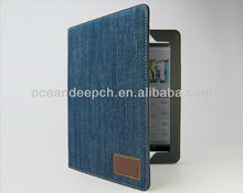 pu leather case for ipad4 leather case sleeve