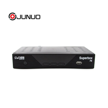 JUNUO combo receiver dvb-s2 dvb-t2 auto biss receiver set top box