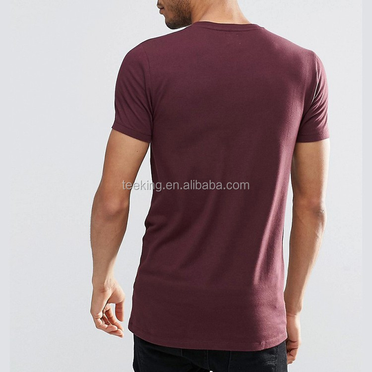 Wholesale Slim Fit Gym 95% Cotton 5% Spandex Mens t shirts