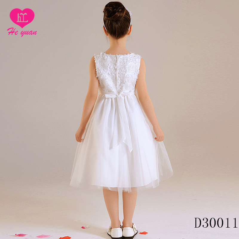 D30011 New Flower Girl Baby Child Dress Puffy Fancy Party Dress