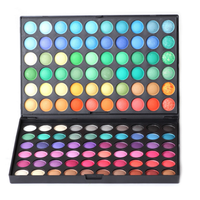 New full 120 Eyeshadow Palette 120 Color Make up Set Matte & Shimmer Eyeshadow Powder