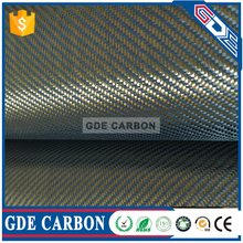 Color carbon fibre kevlar cloth
