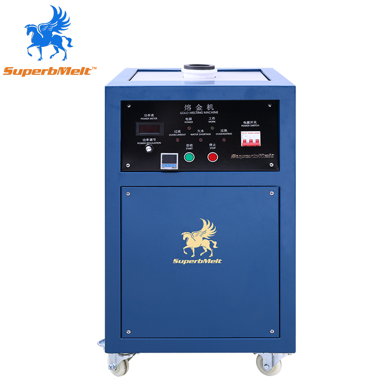Precious Metal 1 Kg ~ 10 Kg Gold Induction Heating Furnace