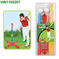 Kids Foam Baseball Bat Toys - Indoor Soft Super Safe T Ball Set for Children