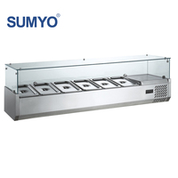 Stainless Steel Restaurant Refrigerated Equipment Table