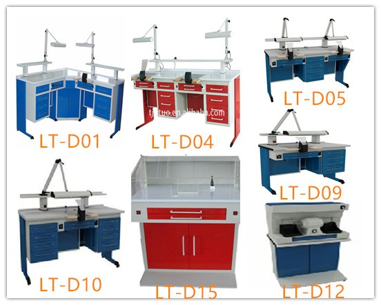 CE dental laboratory work bench dental technician table