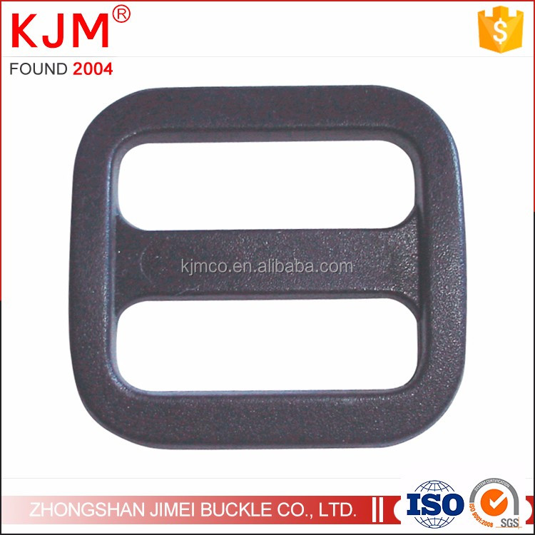 Plastic ajustable strap buckle tri-glide belt buckle for straps