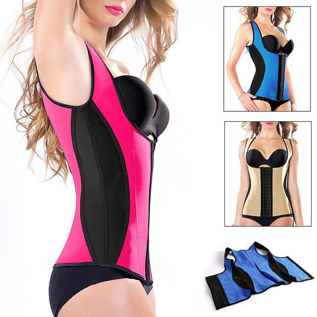 Breathable Latex Plus Women Underbust Corset Adjustable Sports Size S-SHAPER Latest Women's Waist Cincher Body Shaper Bustier