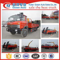 2016 new model Dongfeng 211HP 6*4 truck-mounted crane for sales