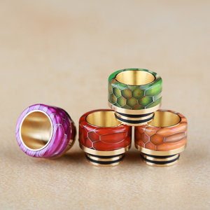 Ecig pei 810 drip tip glass tips for tfv8/tfv12