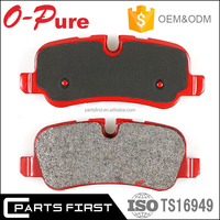 GDB1335 E-mark car accessories auto ceramic front disc brake pad factory For Mercedes benz W210 W203 W202 OE 003 420 27 20