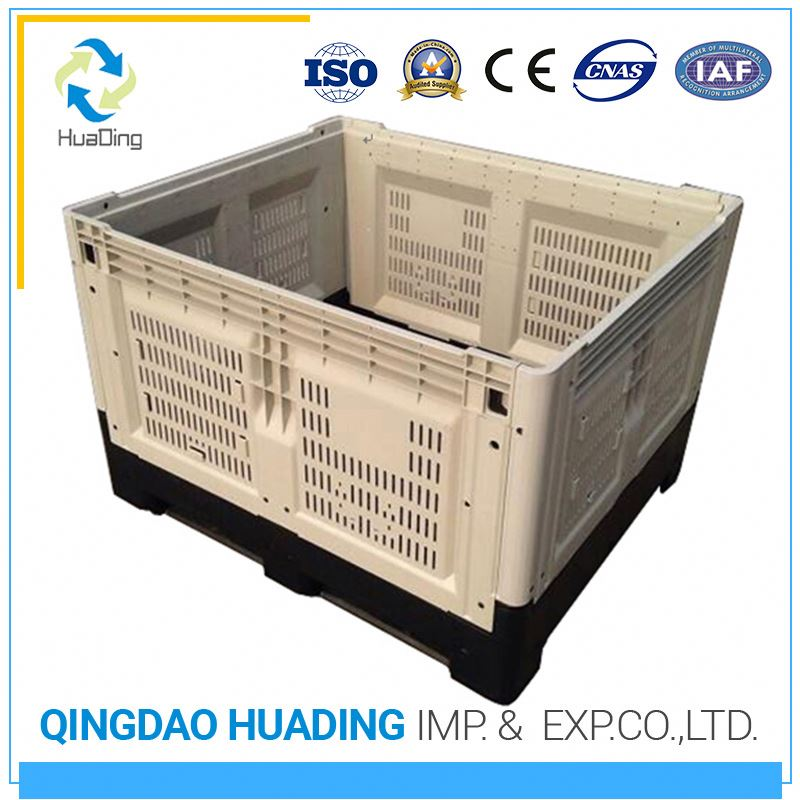 COLLAPSIBLE CONTAINER 1210H810 Reusable Plastic Packaging Pallet And Transport Container