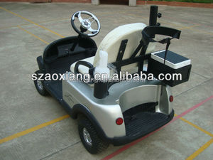 single seat electric golf cart for sale,with golf bag holder or Aluminum Cargo box
