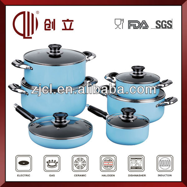 tempered glass cooking pot CL-S078