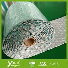 high strength foil woven bubble crawl space insulation material