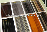 wood color high gloss uv mdf panel
