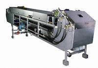 cooling belt conveyor Cooler Belt Conveying Flakes