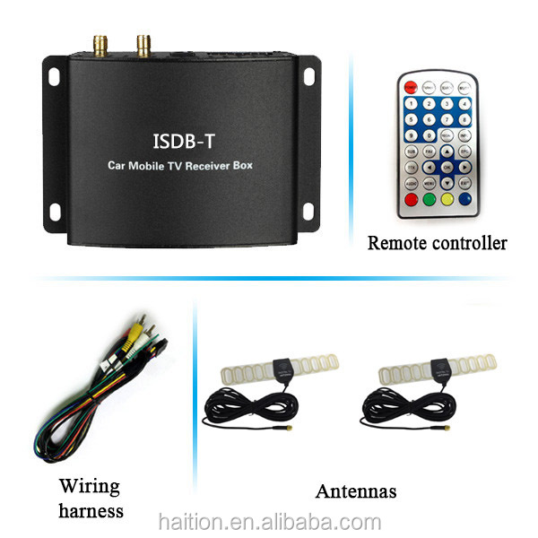 philippines isdb-t usb tv tuner with double antennas you can watching tv in car the same as in home