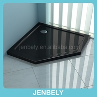 High grade Diamond Black shower tray