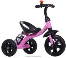 cheap price tricycle for children/good quality baby trikes with basket/2017 new arrival kids tricycles