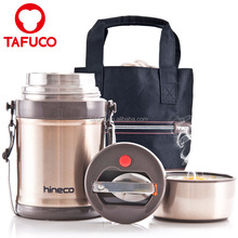 34OZ/1000ML Stainless Steel Food Container Insulated Bento Vacuum Lunch Box