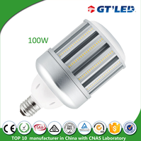 High luminous flux led corn light replace high bay led street light 100w 120w