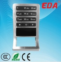 Smart RFID card waterproof keypad cabinet lock