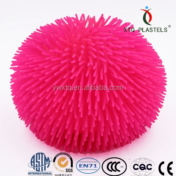 Puffer Ball Toys : Hot selling magic squishy puffer ball toys for kids spiky