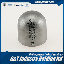 High quality stainless steel pipe end cap tube round cap